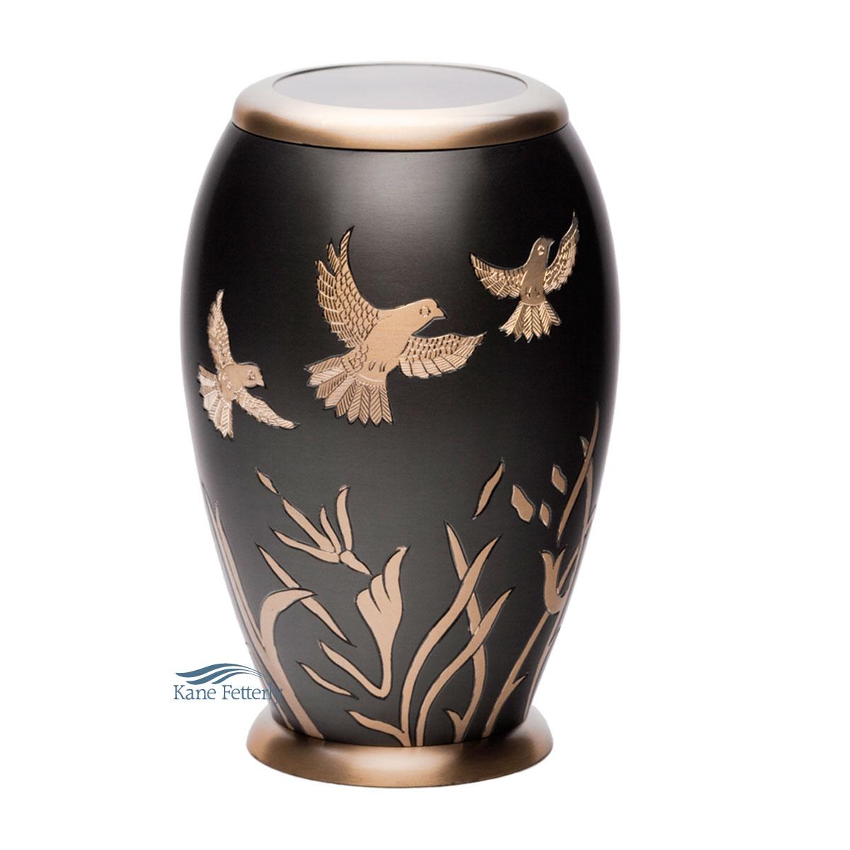 U8665 Brass urn