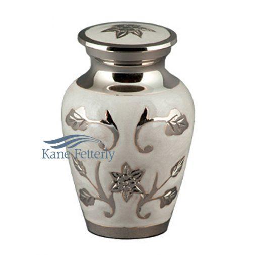 U86710K Urne miniature, motif tournesols