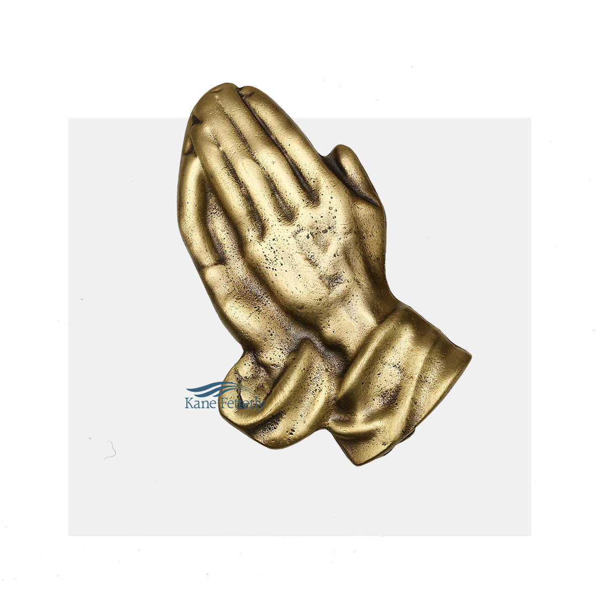 A0224 Praying Hands - ornament for urn