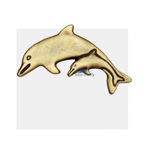 Dolphins ornament for urn