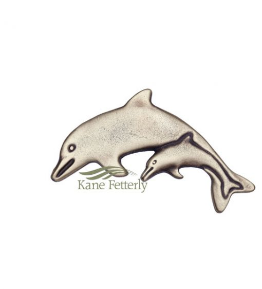 A0243 Dolphins ornament for urn