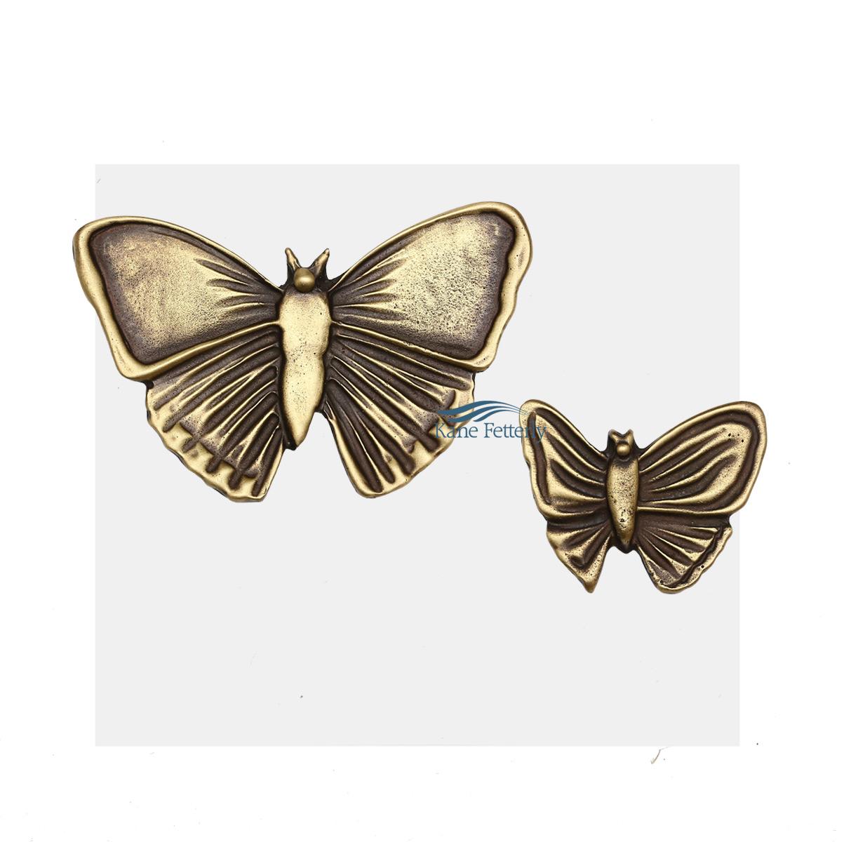 A0249 Butterflies - ornament for urn