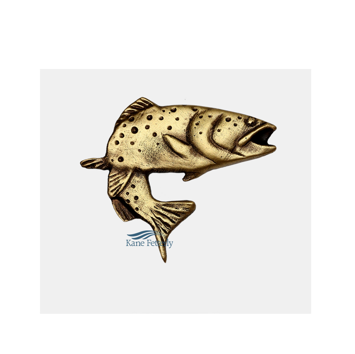 A0251 Trout ornament for urn