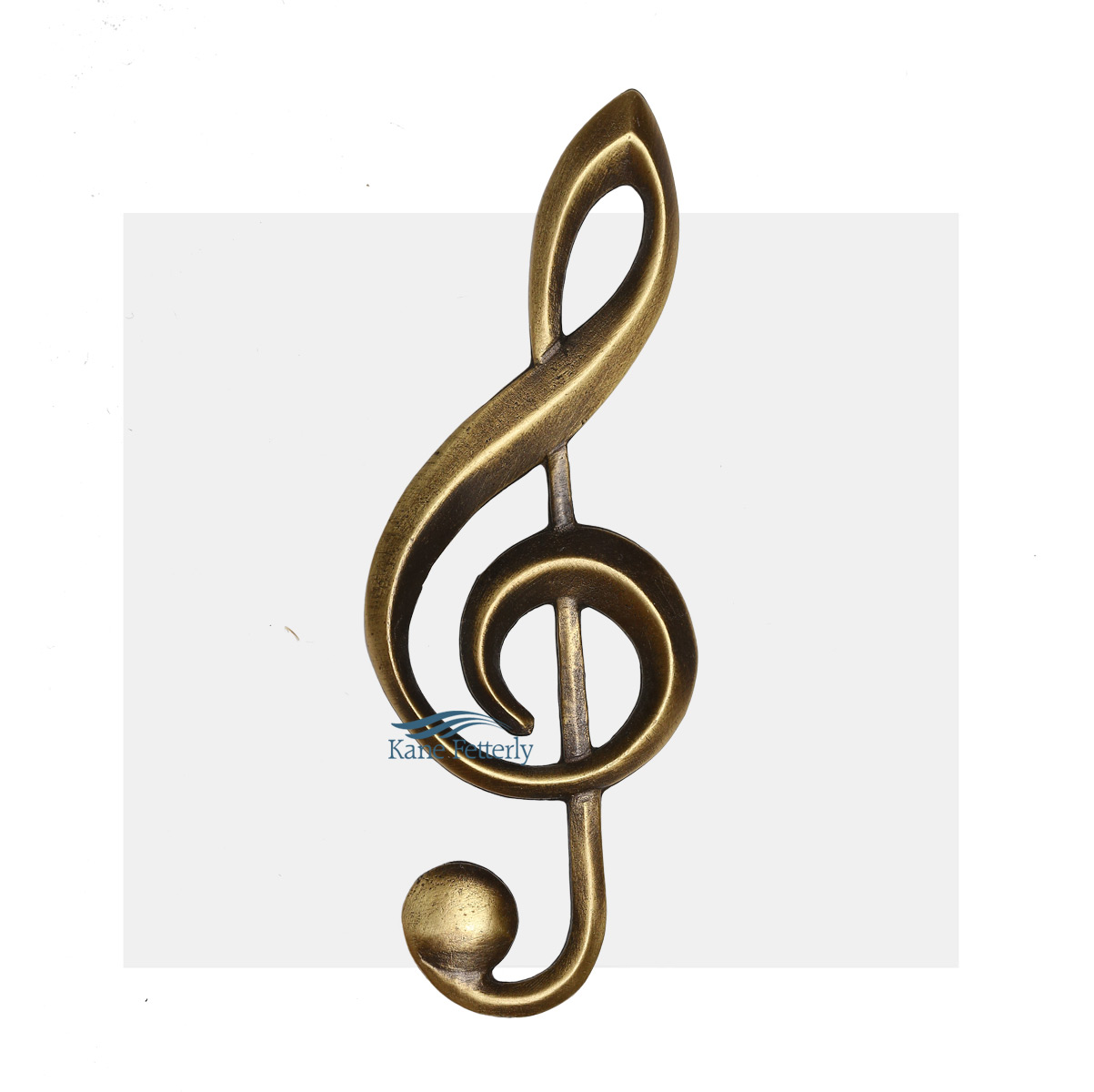 A0324 Treble Clef - ornament for urn