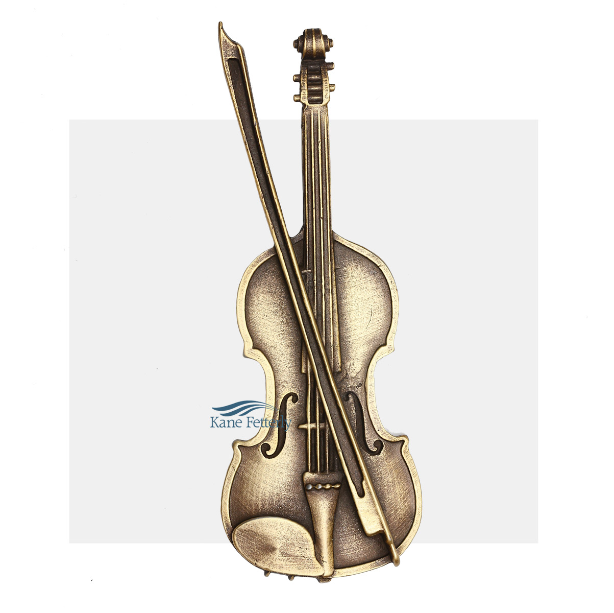 A0330 Violin - ornament for urn