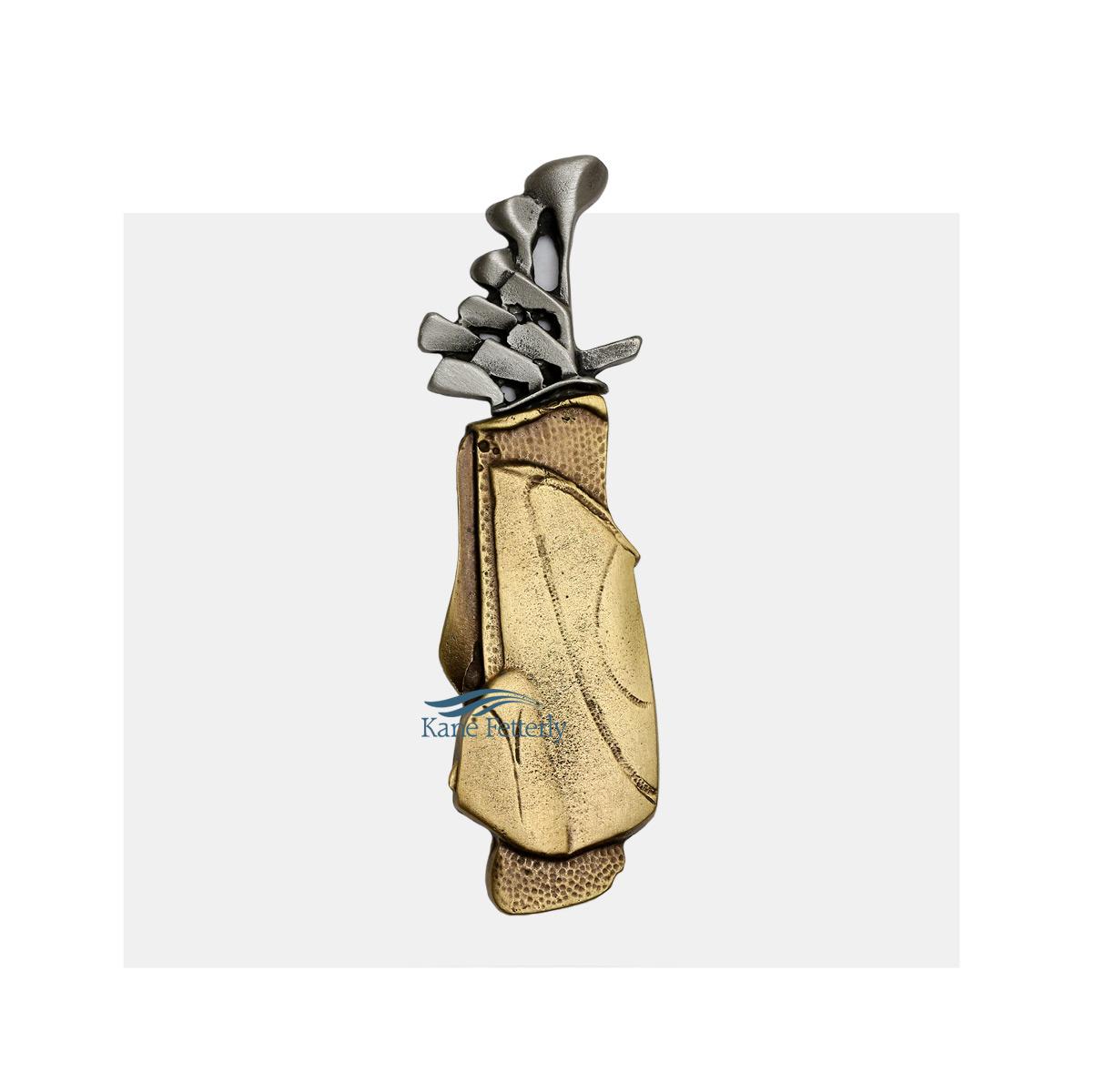 A0350 Sac de golf- ornement pour urne