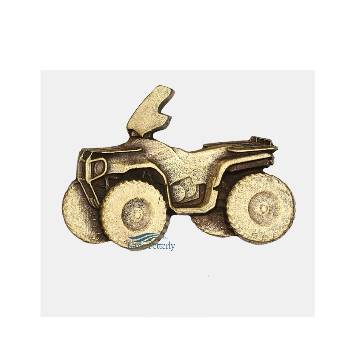A0355 4 Wheeler - ornament for urn