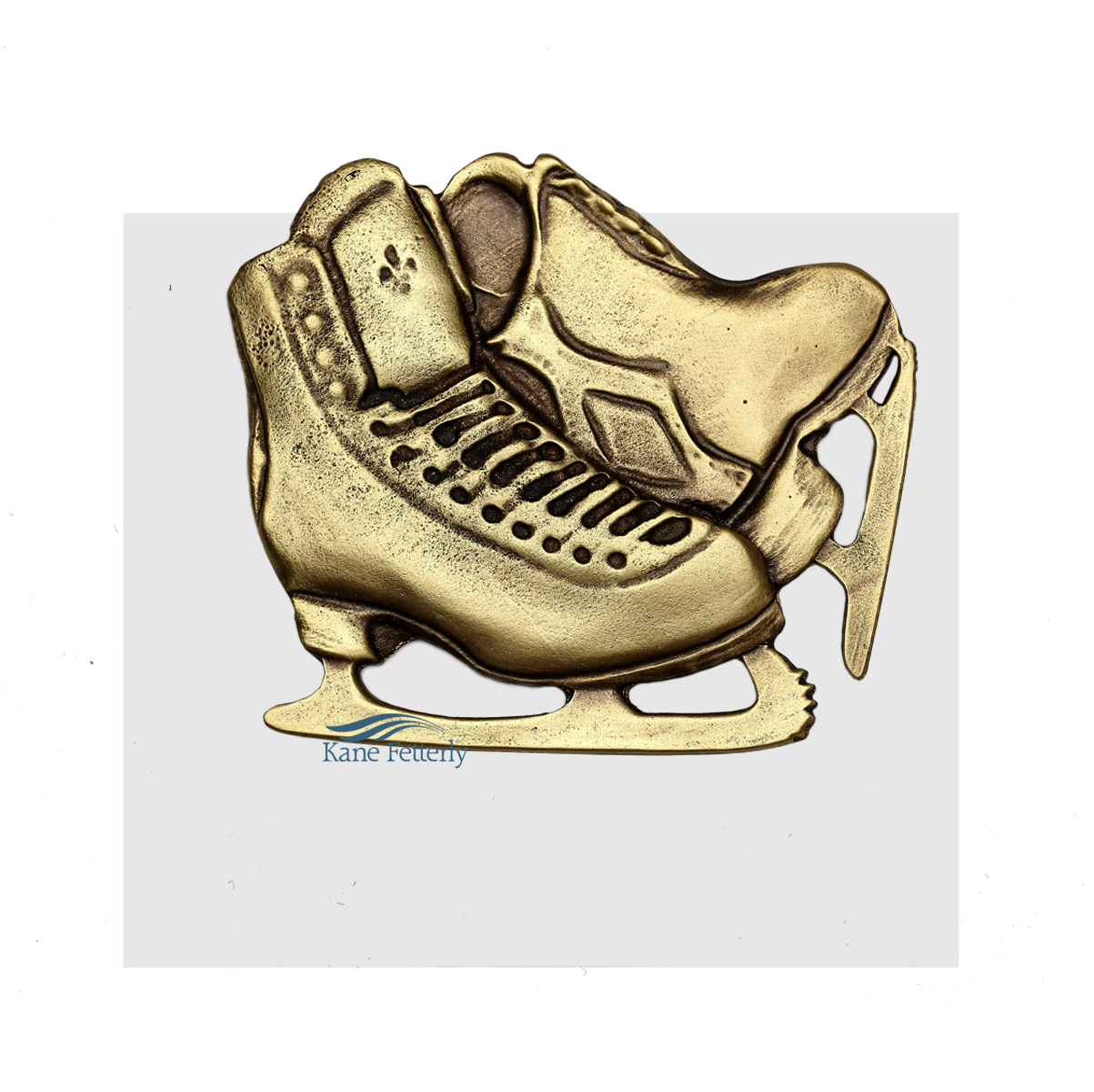 A0356 Skates ornament for urn