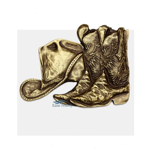 Cowboy boots ornament for urn