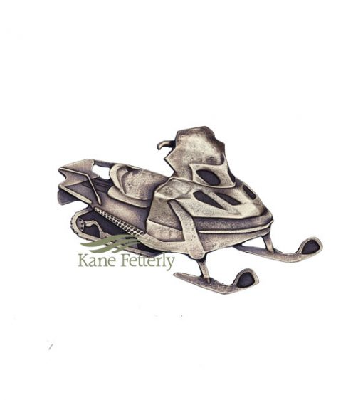 A0360 Snowmobile - ornament for urn