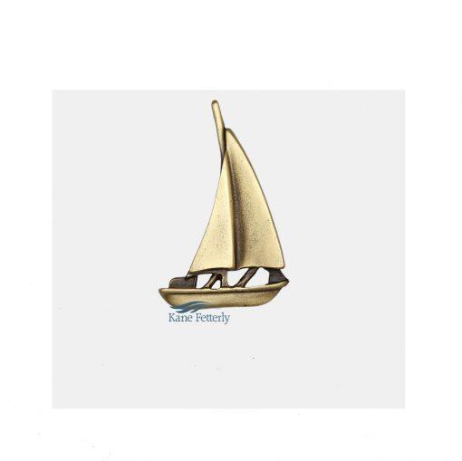 Sailboat ornament for urn