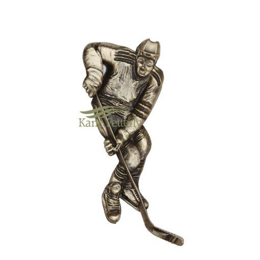 Hockey - ornement en métal pour urne