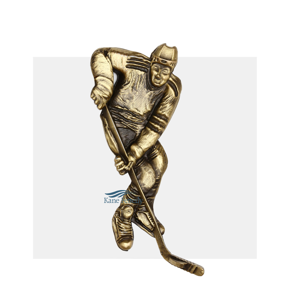 A0370 Hockey Player - ornament for urn