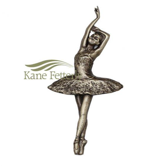 A0375 Ballerina- ornement en métal pour urne