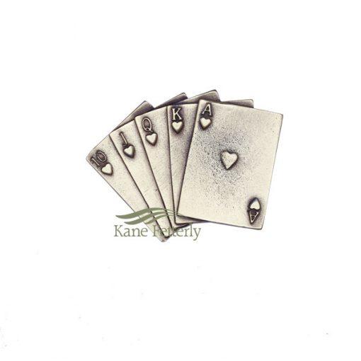 Ornement pour urne jeu de cartes
