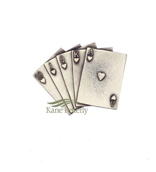 A0399 Jeu de cartes - ornement pour urne