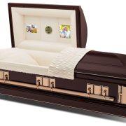 C1829 Cercueil en acier