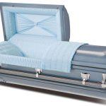 C2068 Steel casket