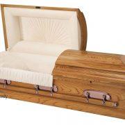 Cercueil en frêne