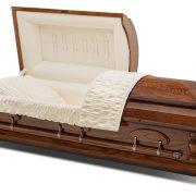 C7023 Oak casket