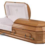 Oak casket