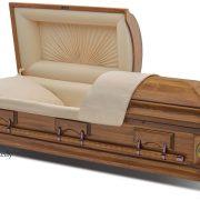 C8062 Cercueil en bois dur