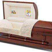 Poplar casket
