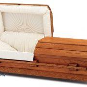 C8083 Poplar casket