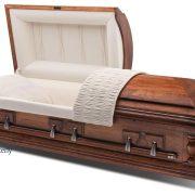 Cercueil en pacanier