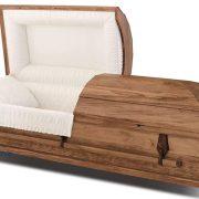 Cercueil en peuplier