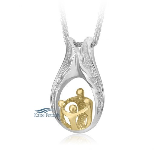 Parent and children cremation pendant