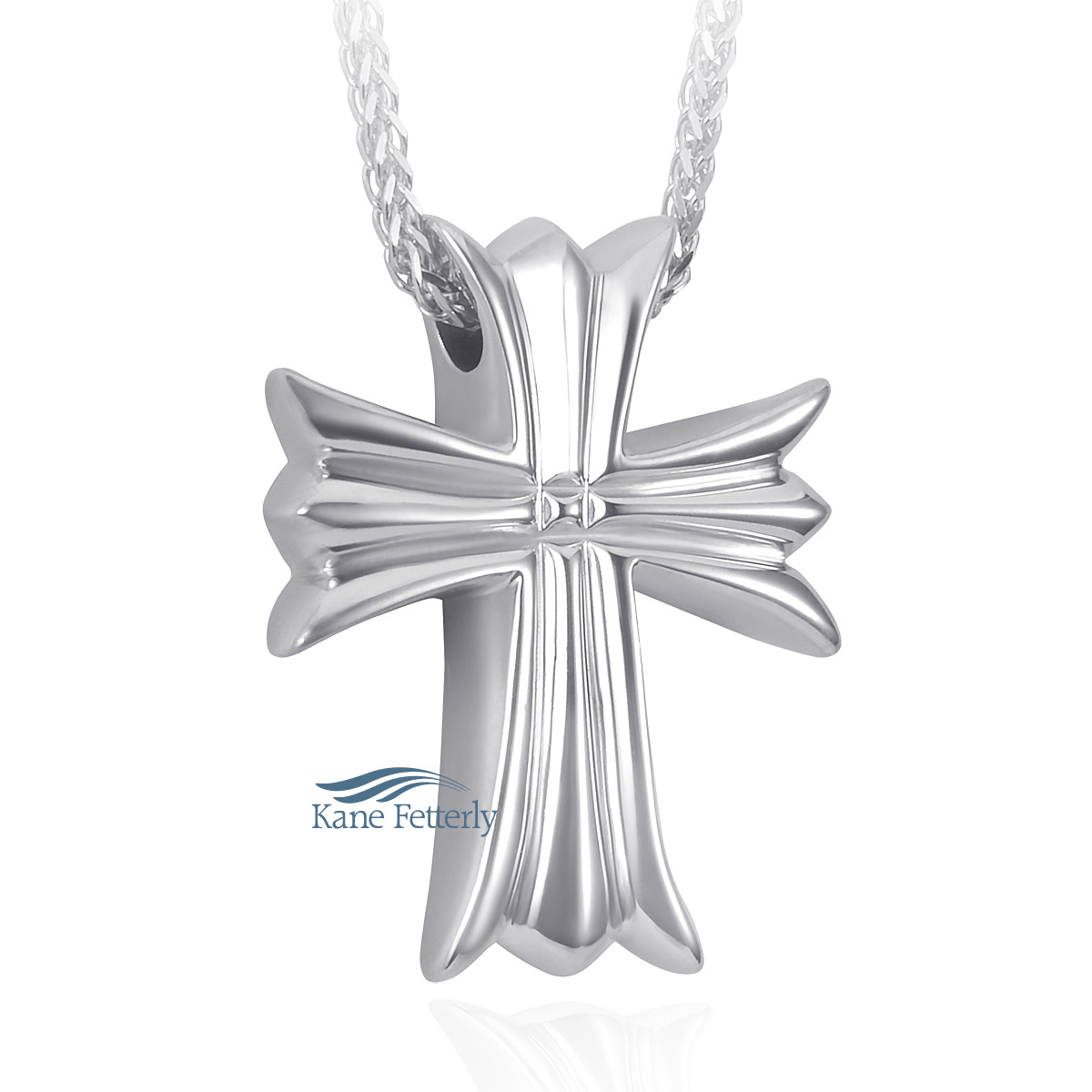 J0175 Cross pendant in sterling silver