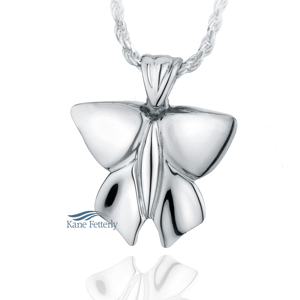 J0189 Butterfly pendant in sterling silver