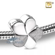 J0243 Flower charm in sterling silver