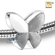 J0244 Butterfly bead in sterling silver