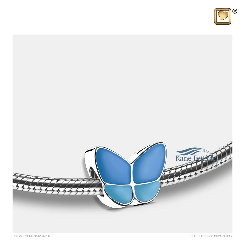 J0252 Breloque papillon