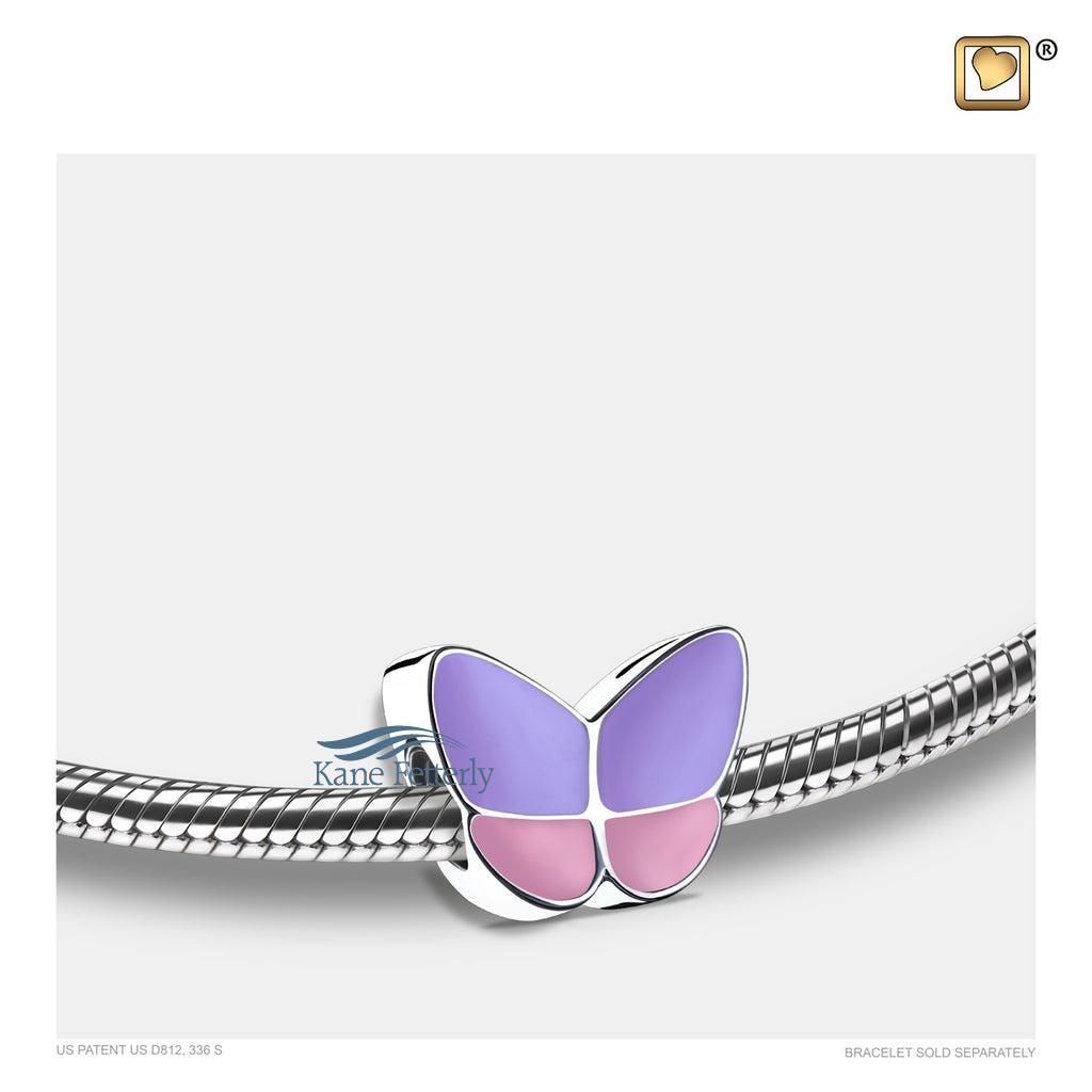J0253 Breloque papillon