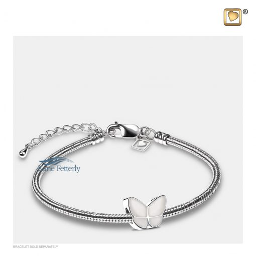 Butterfly bead (shown with bracelet)