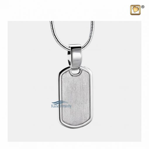 Tag cremation pendant