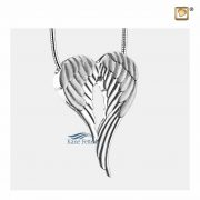 Angel wings pendant for ashes