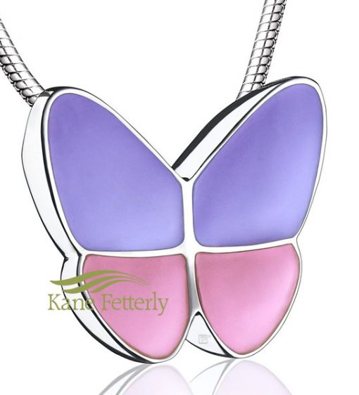 J0272 Butterfly cremation pendant