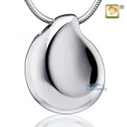 Teardrop cremation pendant