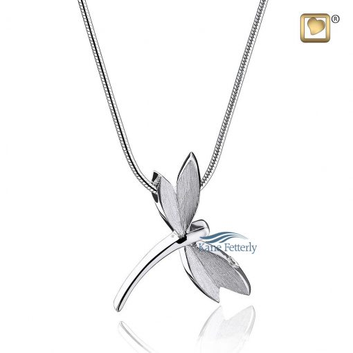 Cremation pendant dragonfly