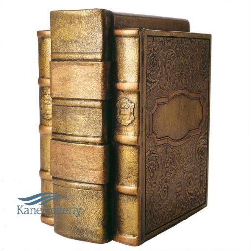 Books cold cast bronze (agglomerate bronze)