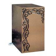 U2P05 Cold-cast bronze urn