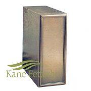 U2P07 Cold cast bronze urn for niche