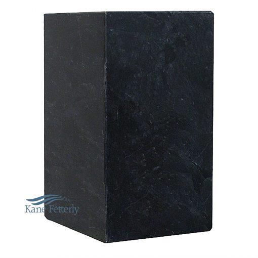 U6003 Urne en granit noire
