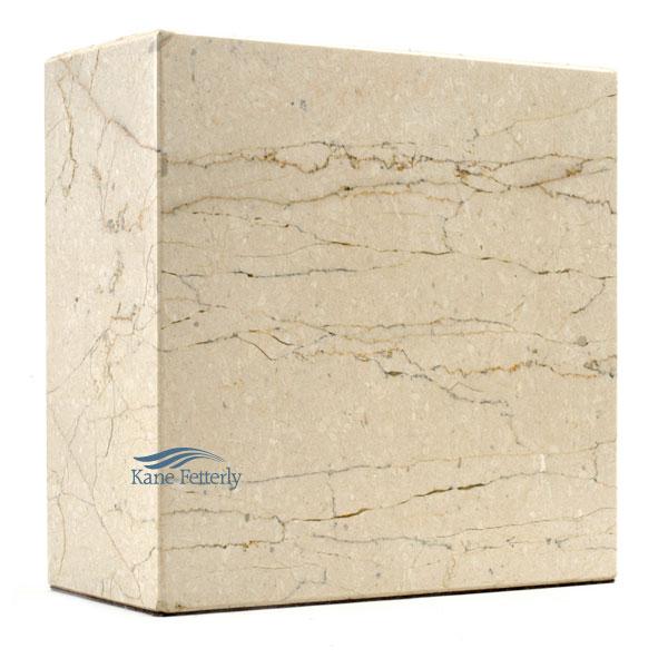 U6032 Urne en marbre naturel beige