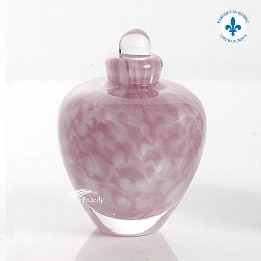 U8201K Hand-blown glass miniature urn