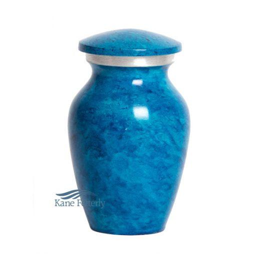 U8405K Sky Blue miniature urn